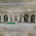 Handicraft roof design in temple